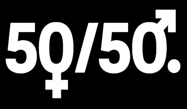 Vision 50/50 Logo